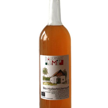 Hollerblütensaftflasche